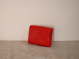 コロンとジャバラミニ財布Sサイズ RDの画像