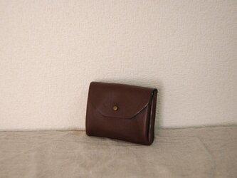 コロンとジャバラミニ財布Sサイズ DBの画像