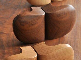木製ドアハンドル/2本/ドア内外用/DH-VM3 オーク/チェリー/オールナットの画像