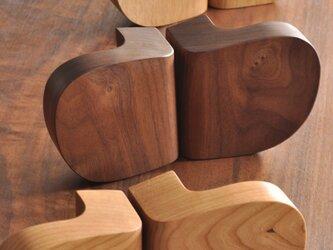 木製ドアハンドル/2本/ドア内外用/DH-VM1 オーク/チェリー/オールナットの画像