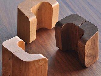 木製ドアハンドル/2本/ドア内外用/DH-VS100 オーク/チェリー/オールナットの画像