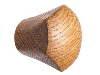 木製コートハンガー/1個/家具つまみ CH-01 オーク/チェリー/オールナットの画像
