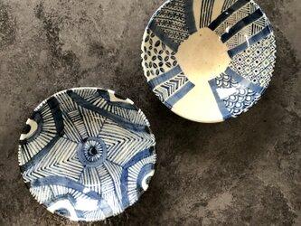 青模様の浅鉢(伊勢丹出展デザイン)の画像