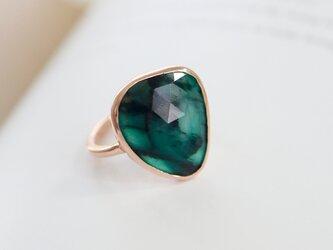 K10 ザンビアのエメラルド ringの画像