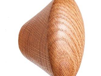 木製コートハンガー/1個/家具つまみ CH-03 オーク/チェリー/オールナットの画像