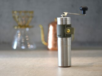 【カラーオーダー】POLEX ポーレックスコーヒーミル ハンドホルダー【ミネルバボックス】革 珈琲の画像