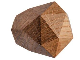 木製コートハンガー/1個/ダイヤモンド型 DK-22M オーク《光が生み出す美しい明暗のグラデーション》の画像