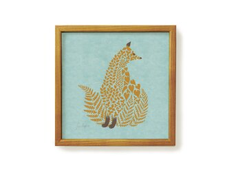 Poster + Frame 20 / Fluffy Kitsuneの画像