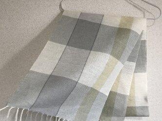 手織りストール SU2の画像