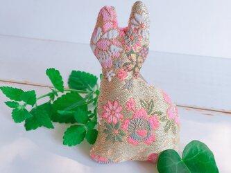 祈りの匂い袋〜香りむすび〜にゃん香  桜柄の画像
