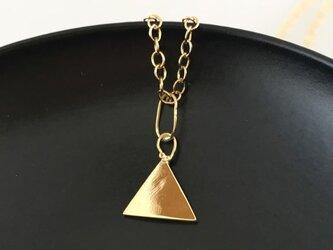 神秘三角形◇K14ゴールドペンダントの画像