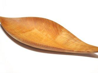 皿/葉っぱ トレー TR-SM Sサイズ メープル 《ホームパーティに素敵な木のお皿》の画像
