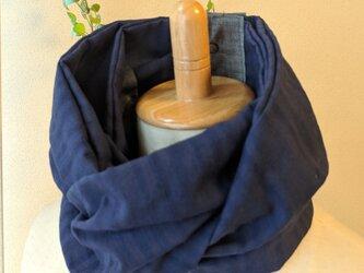 19-27 保冷剤入れ付スカーフ風日除けネックウォーマーの画像