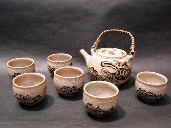 絵唐津茶器セット(むつごろう)の画像
