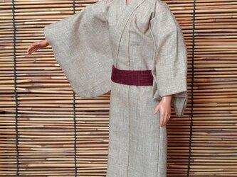 ケン着物 砂色の浴衣の画像