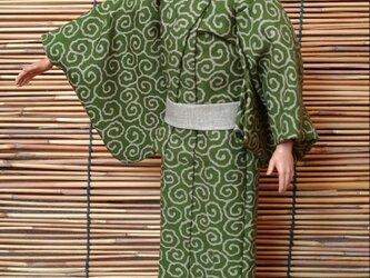 ケン着物 唐草の浴衣の画像