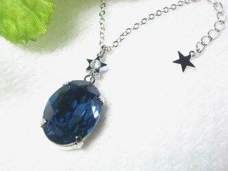 小さな星の輝きネックレスの画像