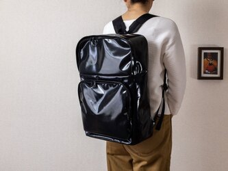 backpack  square Blackの画像