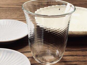 透明グラス① ロックグラスの画像