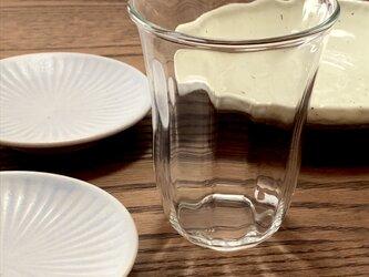 透明グラス② ロックグラスの画像