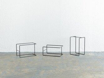 【再入荷】アイアンフレーム(板をのせて使う脚・台)|家具未満シリーズの画像