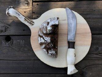 パン切りナイフ(カッティングボード付)の画像
