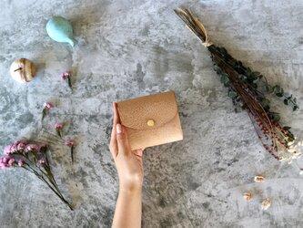 アラスカ_キャメル◆外装◆こども財布◆三つ折りの画像