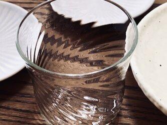 透明グラス③ ロックグラスの画像