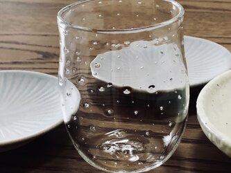 透明グラス④ ロックグラスの画像