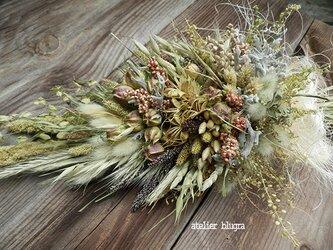 八ヶ岳〜雑穀のスワッグ002の画像