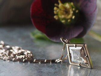 カイトシェイプナチュラルダイヤモンドペンダントの画像