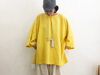 Pablo Shirt - Long   Yellowの画像