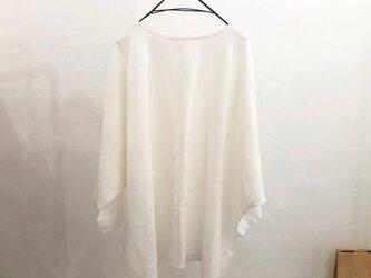 Pablo Shirt - Long   Whiteの画像