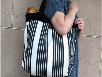 コンパクト おかいのもかばん  ストライプの画像