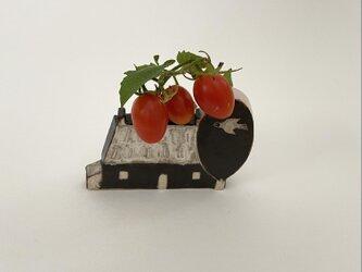 花器「小さなお家」の画像
