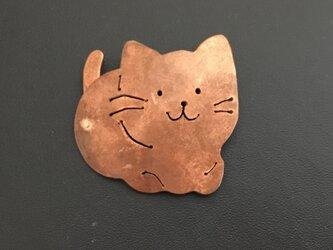 猫のブローチ2の画像