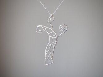 pteridophyte   シダのシルバーネックレス silver925 ◼pivo◼705の画像