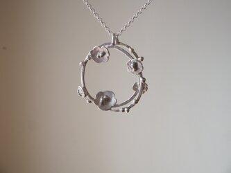 blossom   花のシルバーネックレス silver925 ◼pivo◼871の画像