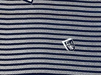 y0041-2 将棋文様浴衣木綿ハギレ80cm☆古布・古裂/布草履/ミニ着物/吊るし飾り/押絵材料/ハンドメイドの画像