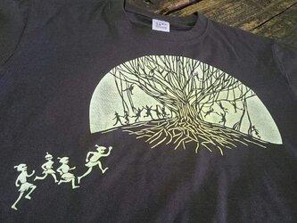 妖怪 KIDS-Tシャツ キジムナーたち / きじむなーたちの画像