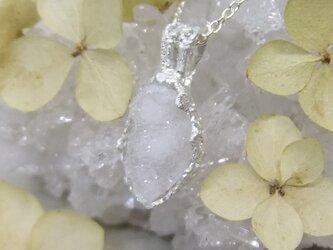 ドゥルジークォーツ*925 lace pendantの画像