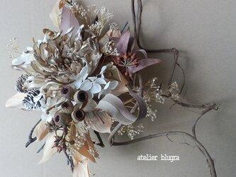 atelier blugra八ヶ岳〜セピアWreath01の画像