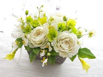 Sold☆クレイフラワー(爽やかな花たち)☆の画像