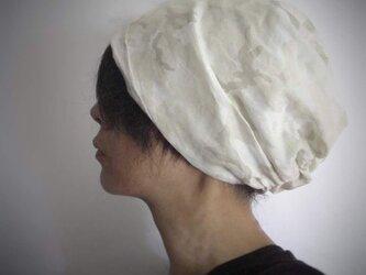 ターバンな帽子 スィートカモフラージュ 送料無料の画像