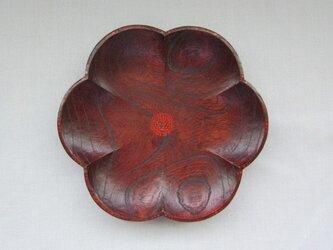 欅六花漆小皿の画像