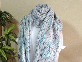 ふわふわ柔らか☆おしゃれな手織りストールの画像
