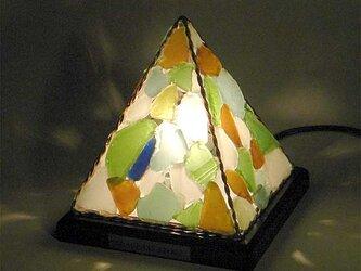 シーグラスのランプ ピラミッドランプSー36の画像