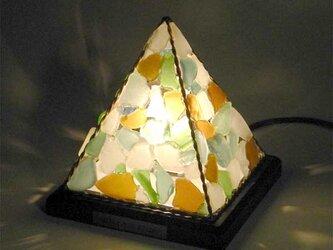 シーグラスのランプ ピラミッドランプSー38の画像