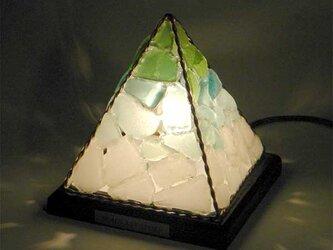 シーグラスのランプ ピラミッドランプSー39の画像