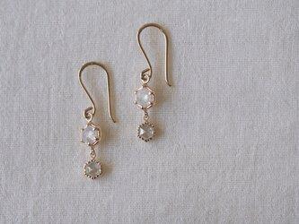 Moon Drops Diamond Earringsの画像